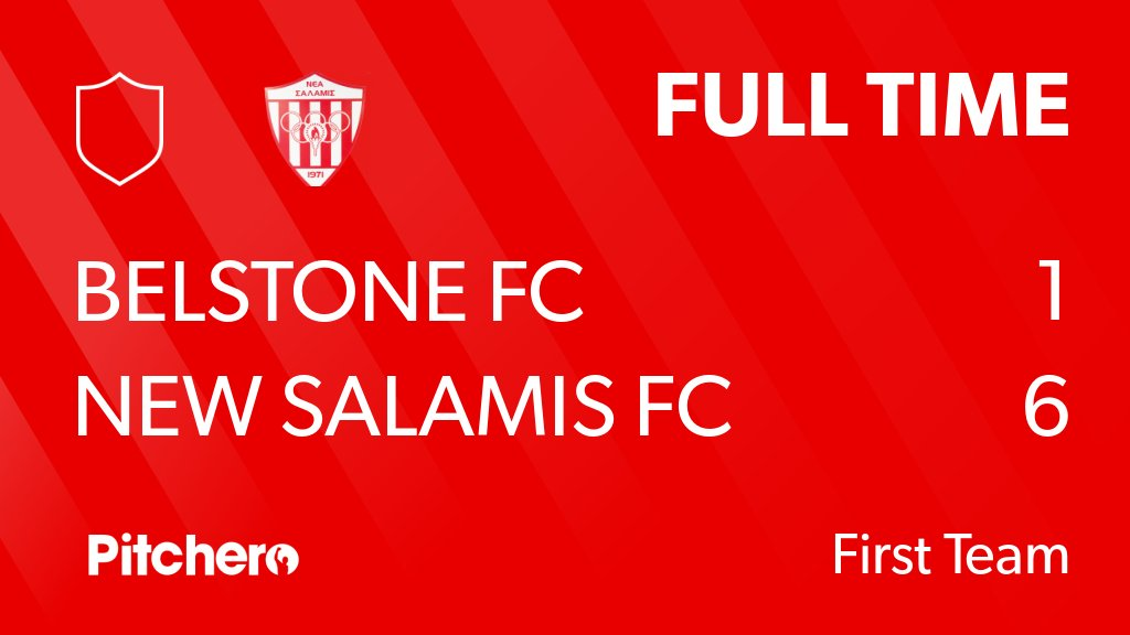 RT @NewSalamisFCUK: FULL TIME: Belstone FC 1 - 6 New Salamis FC #BELNEW #Pitchero https://t.co/kbpLCJlBiv https://t.co/JxsF8sjGFr