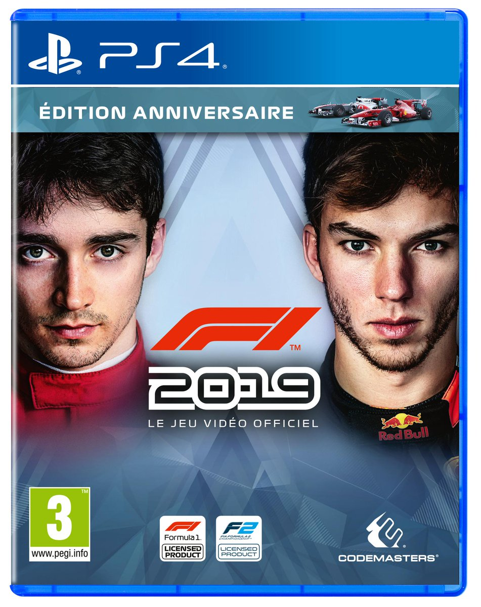 In France? Charles Leclerc and Pierre Gasly feature on the front of our French cover art.  🇫🇷