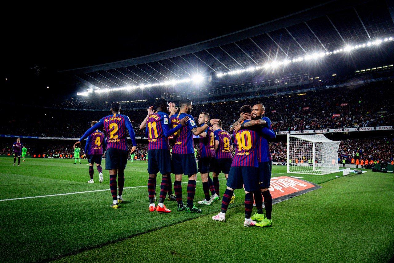 Прімера. 35-й тур. Барселона - Леванте 1:0. Чемпіони - изображение 3