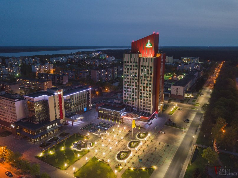 Солигорск вечерний фото