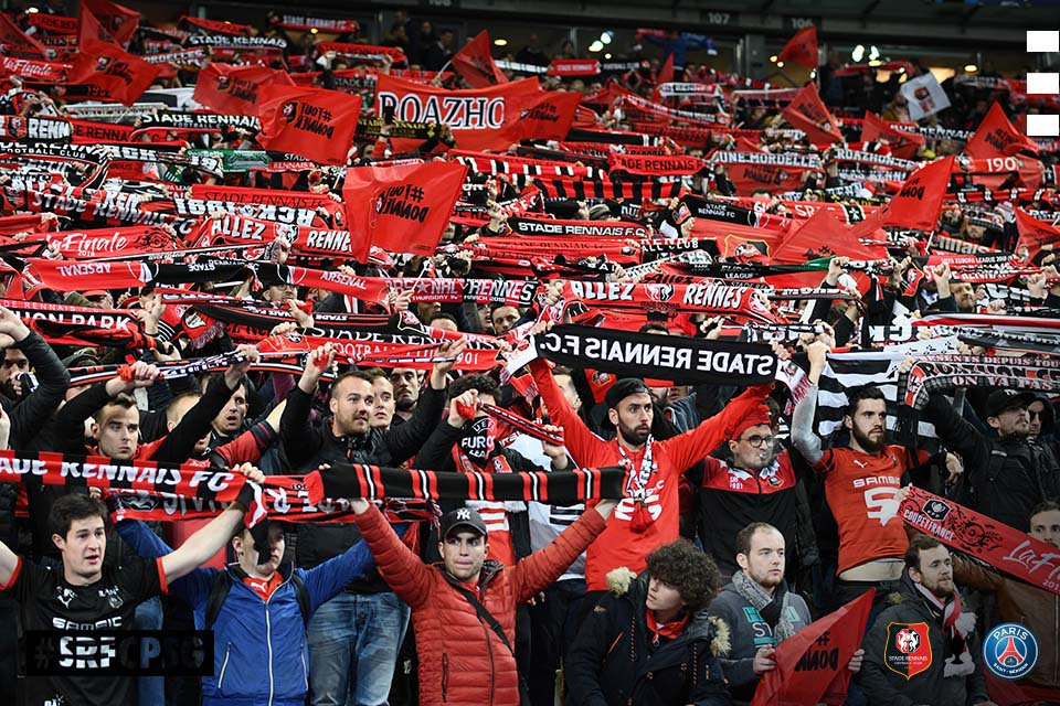 Stade Rennais SRFC PSG Coupe de France supporters photo socialmedia digital Ouest MEDIAS