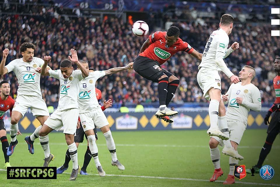 Stade Rennais SRFC PSG Coupe de France but Mexer photo Ouest MEDIAS socialmedia Live digital