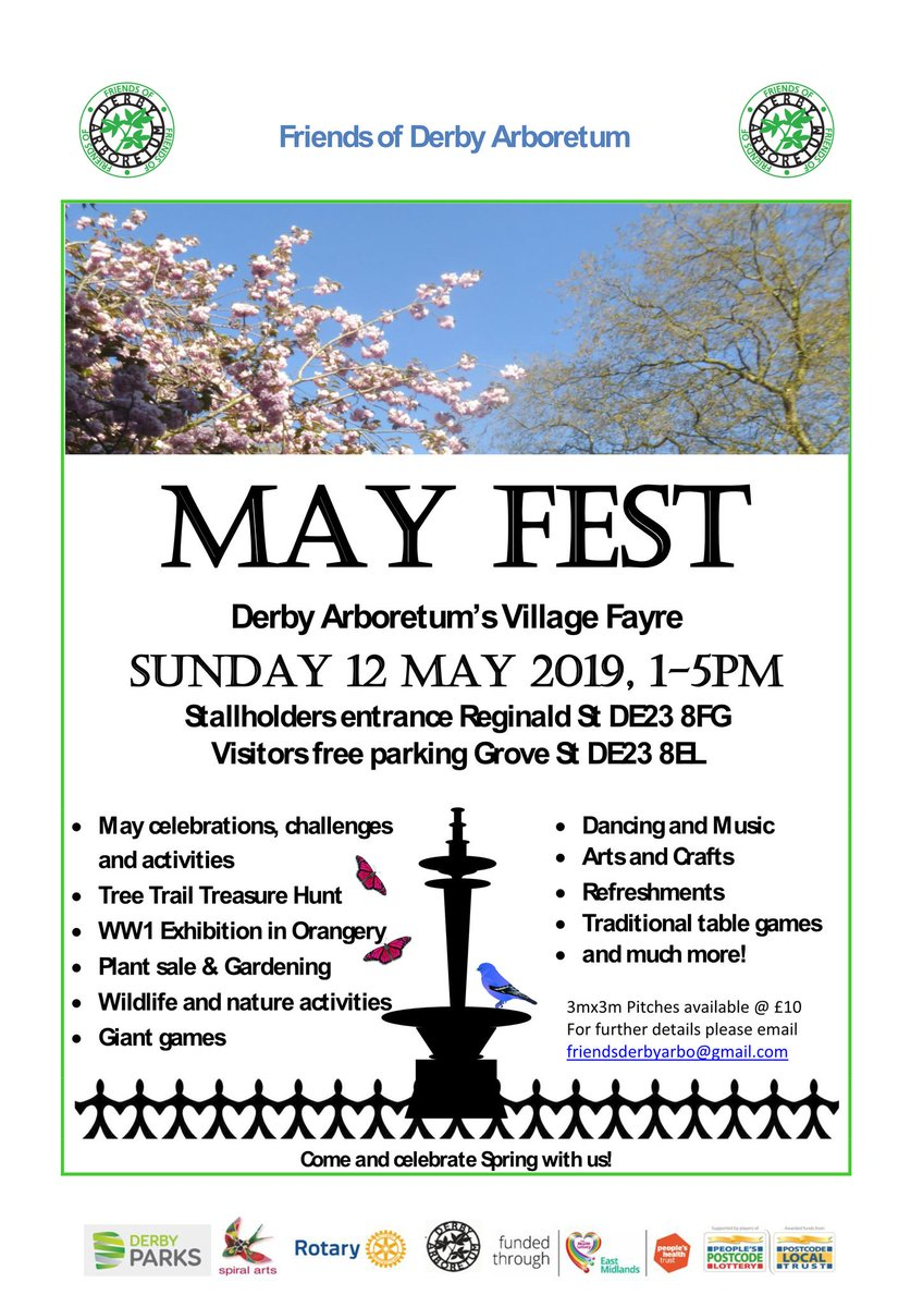 A great way to spend a day out in this beautiful park. Stalls, refreshments and entertainment. Free entry.