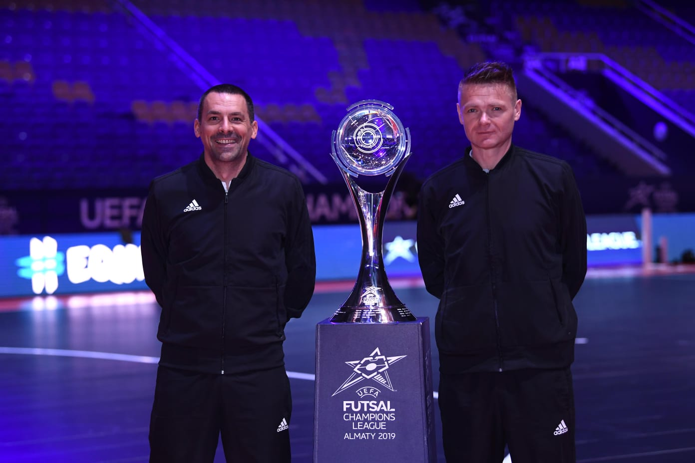 """HNS on Twitter: """"🇭🇷 #Croatia referees Saša Tomić and Nikola Jelić  appointed for the #UCLFutsal Sunday final! 🏆 @Sporting_CP🇵🇹 vs.  @afckairat🇰🇿 #BeProud #Family… https://t.co/lK5HqI97lw"""""""
