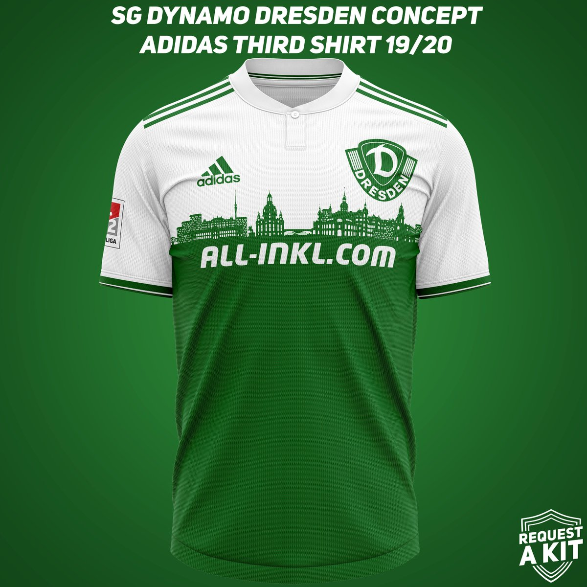 Request A Kit On Twitter Sg Dynamo Dresden Concept Adidas
