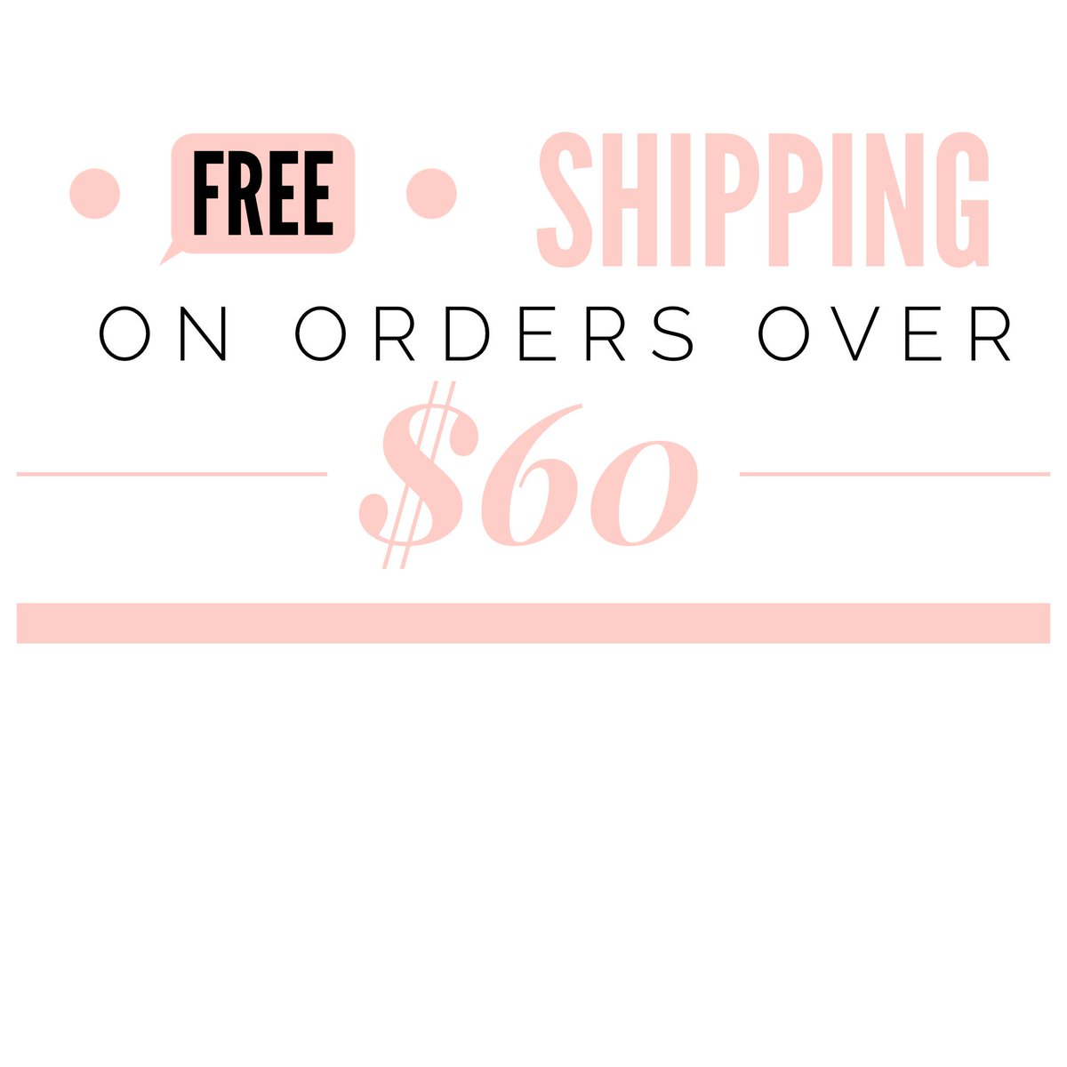 FREE SHIPPING! 🎀📦   Use code: FREESHIP60   *orders $60 and over  https://t.co/PxdsjtDtn7 https://t.co/YMel7mZi9M