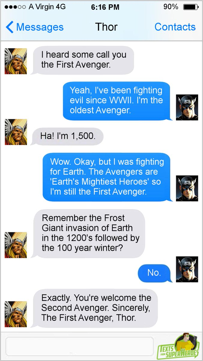 From Superheroes a Twitter: