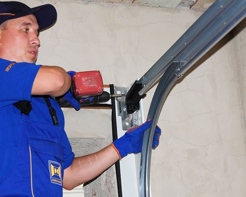 ... Garage Door To Work Properly Again, Sometimes The Solution Is As Simple  As Rusted Or . ...