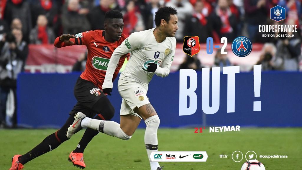 Le but de @neymarjr pour le 2-0 !!! #SRFCPSG #CDF