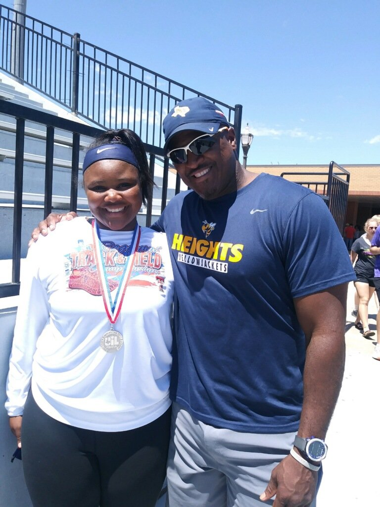 Great Job Baby Girl!!!!! You did it! She is headed to STATE!!!!!