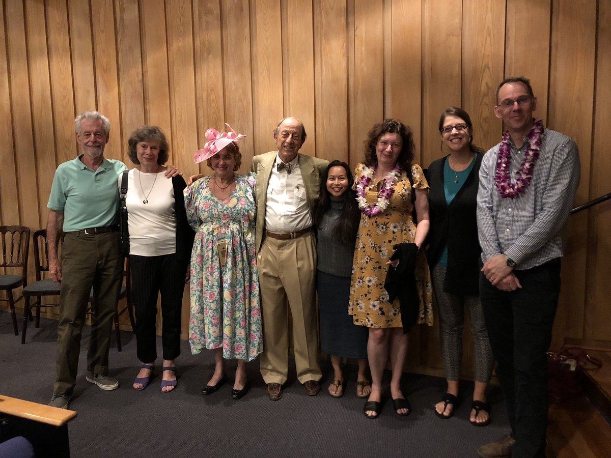 The value of performing is in meeting people before and after, exchanging ideas, or just listening to their lectures. (These are AIA @archaeology_aia @uhmclassics people here— Floyd McCoy, Chelsea Gardner, @archaeoctopus Robert Littman, Turi King @Turi__King ) 3/4 https://t.co/wgTP9vEb4K
