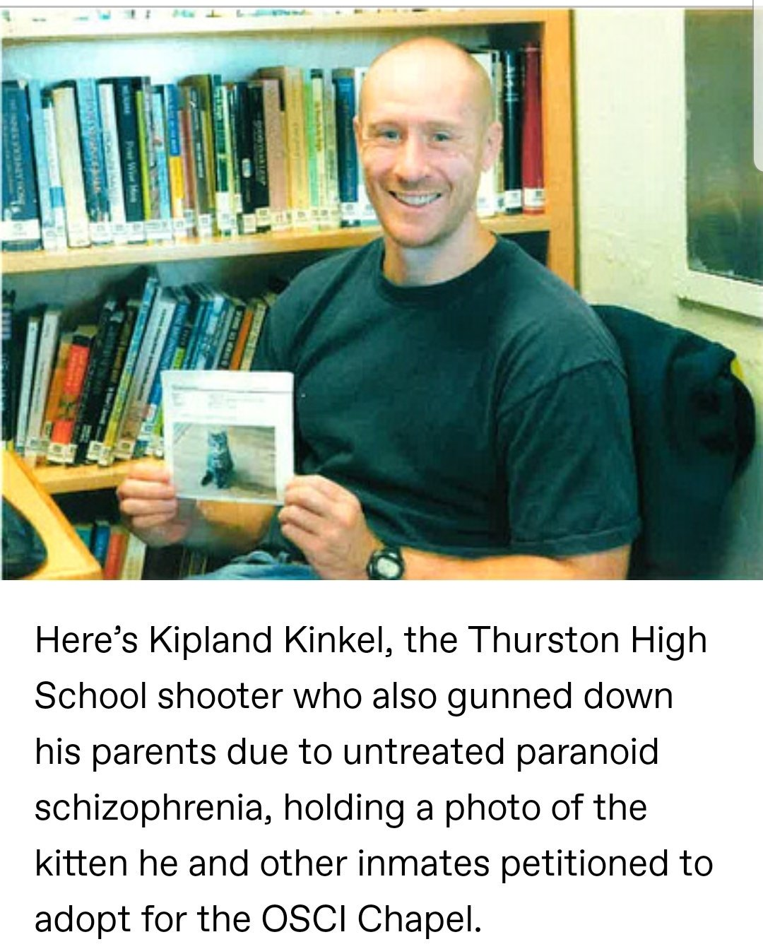 Murderific True Crime Podcast On Twitter The Thurston High School Shooting Took Place On May 21 1998 Expelled Student Kip Kinkel First Murdered His Parents Before Engaging In A School Shooting In Springfield Oregon That 30 august 1982 • springfield, oregon. 1998 expelled student kip kinkel