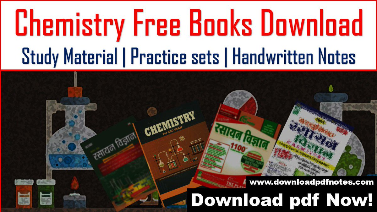 PDF] Chemistry Free Books Download | Study Material