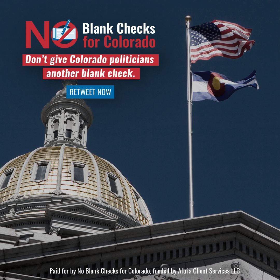 Help us tell @JeffBridges & @domoreno that Colorado voters won't stand for more blank checks to spend however they want with no accountability!   RT to tell them to oppose HB 1333.