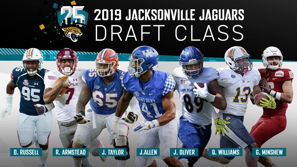 DUUUVAL on Twitter: Introducing the 2019 Jacksonville Jaguars Draft