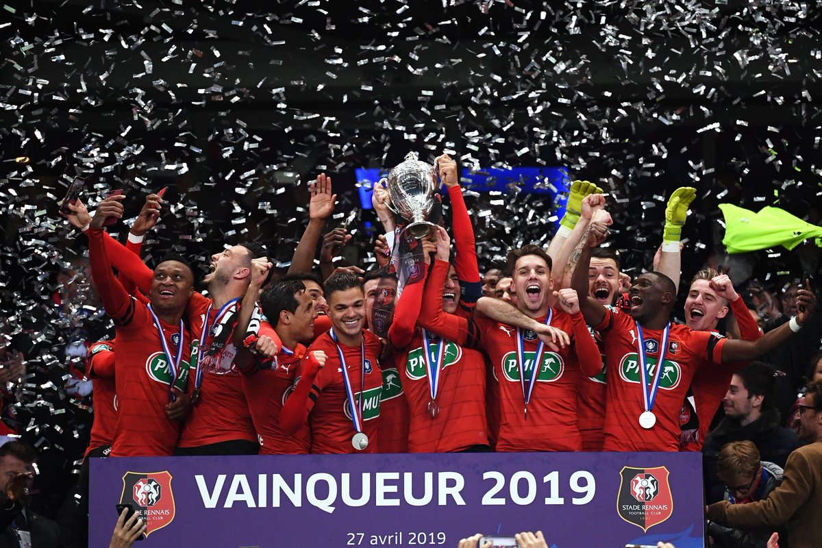 Stade Rennais FC : Vainqueur 2019 de la @coupedefrance ! 🏆🇫🇷
