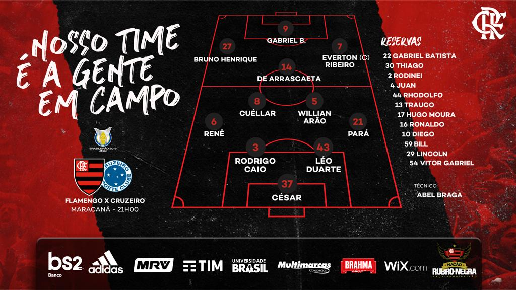 Flamengo's photo on #FLAxCRU