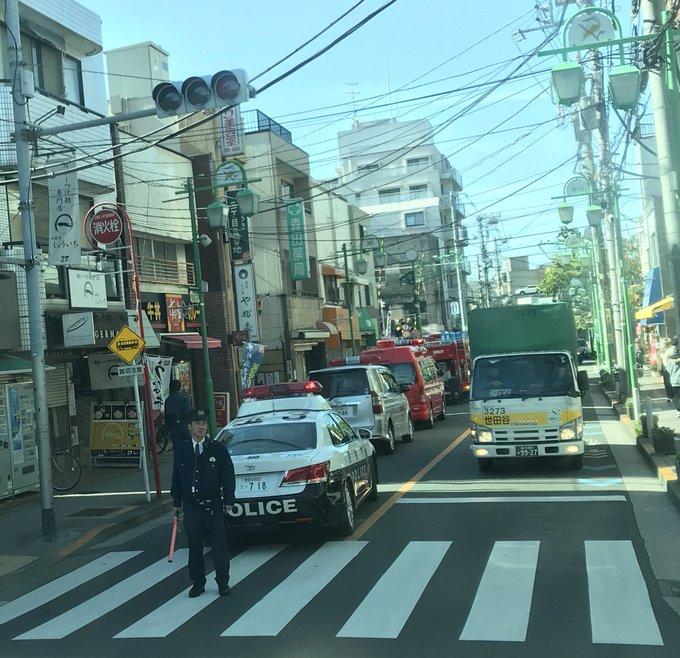 東急大井町線の等々力駅で人身事故が起きた現場画像