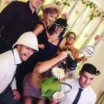 Photo booth fun at @Athelhampton last night for Laura and Edward's wedding. #retrobooth #vintagevibe #weddings