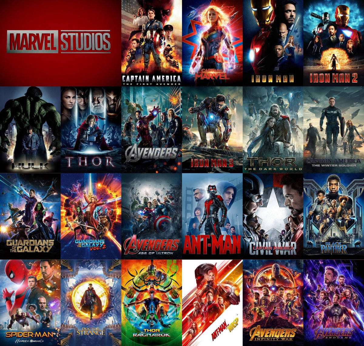 11 years  22 movies  1 universe  Millions of hearts   #ThankYouAvengers
