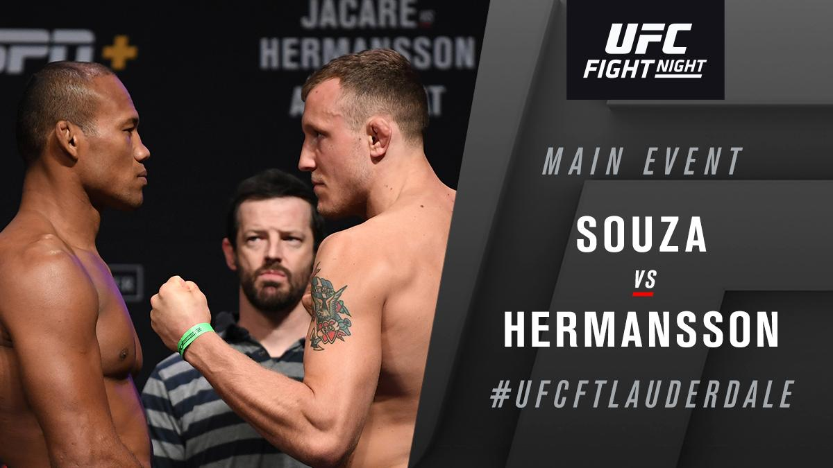 UFC Fight Night 150 Results - Jack Hermansson Outclasses Ronaldo Souza, Wins via Unanimous Decision -