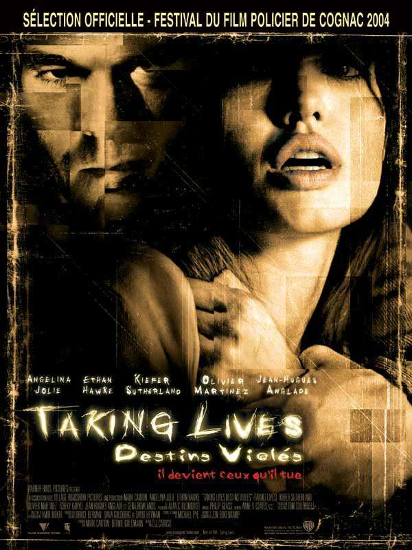Taking Lives, destins violés est sorti ce jour il y a 15 ans (2004). #AngelinaJolie #EthanHawke - #DJCaruso