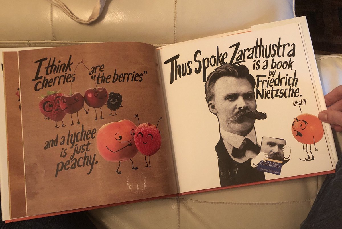 Anna Del Savio On Twitter I Am Annoyed About Two Things 1 That This Children S Picture Book Referenced Nietzsche 2 That The Two Year Old I Babysit Knows How To Pronounce Nietzsche