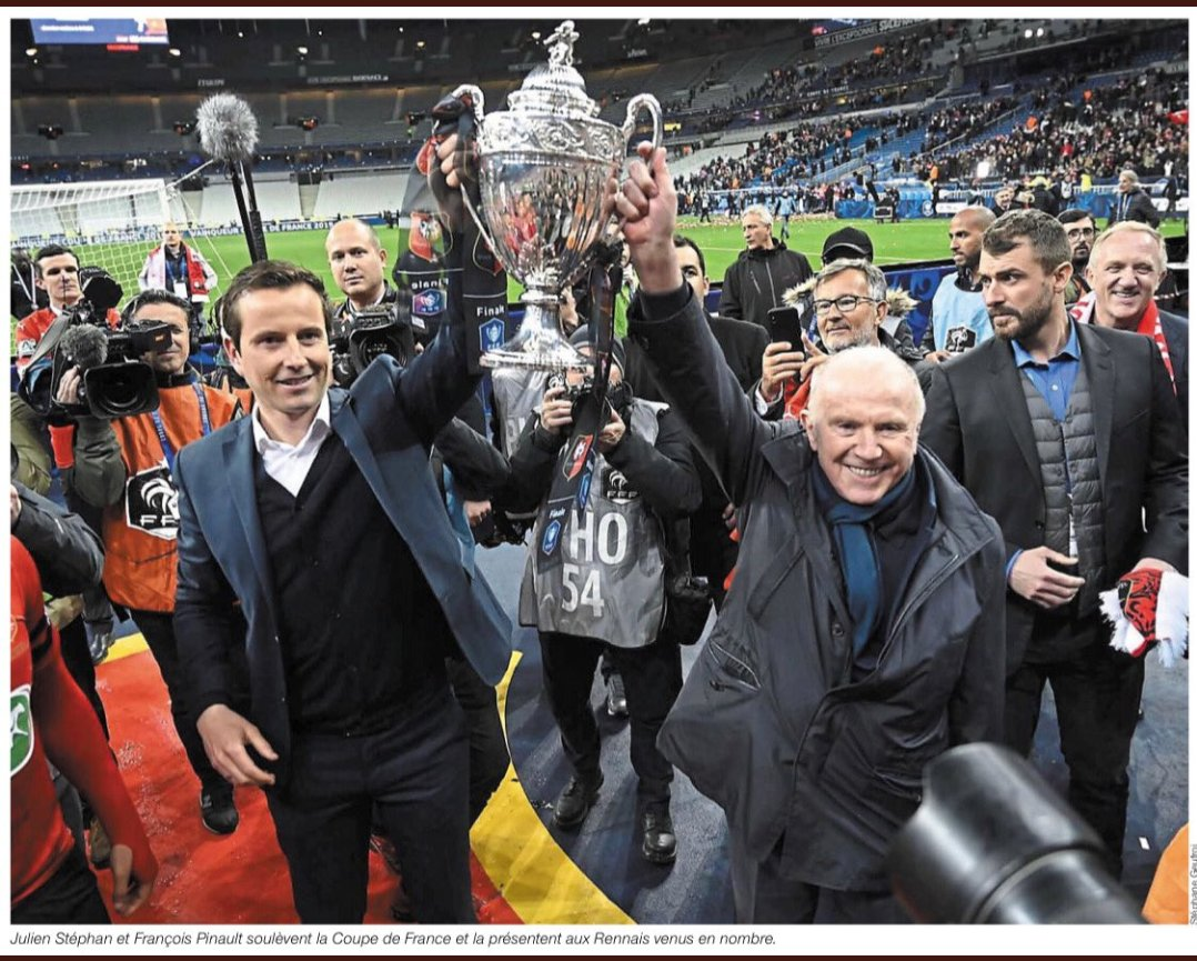 François Pinault will continue to invest in the Stade Rennais