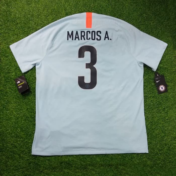 c8c8a8986 ... Shirt Marcos Alonso Size XL ( 79cm x 61cm ) Brand New With Tags P2R  Vaporknit Official nameset and number player size Folded number IDR  2.300.000 ...