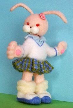 #あなたがやめられないものは 羊毛人形の着せ替え