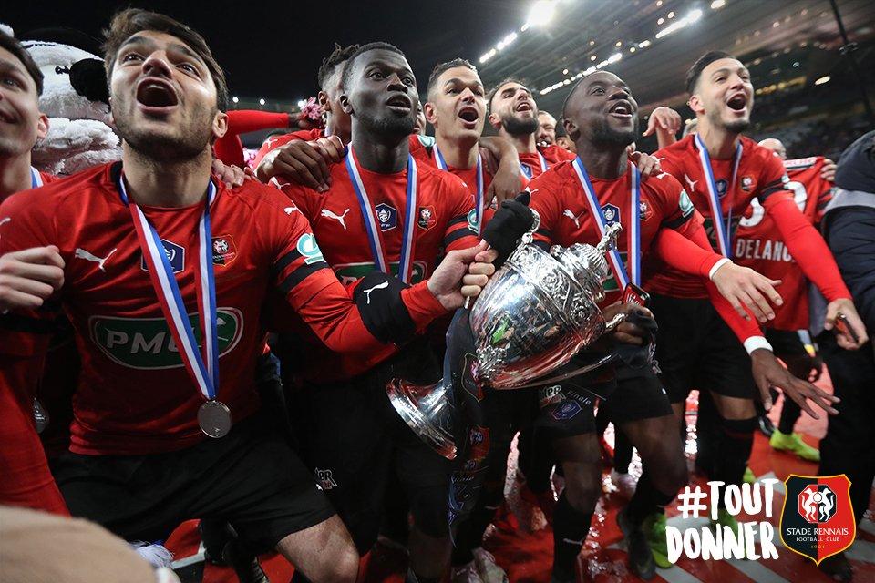 Stade Rennais SRFC PSG Coupe de France joie photo Ouest MEDIAS digital socialmedia