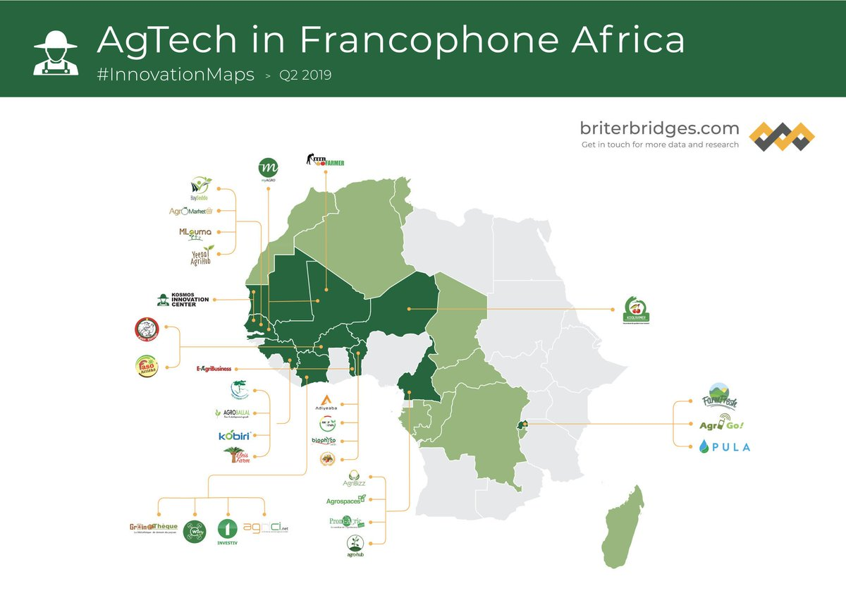 Map Of Francophone Africa.Seleu Reginald H K On Twitter Agtech Tech In