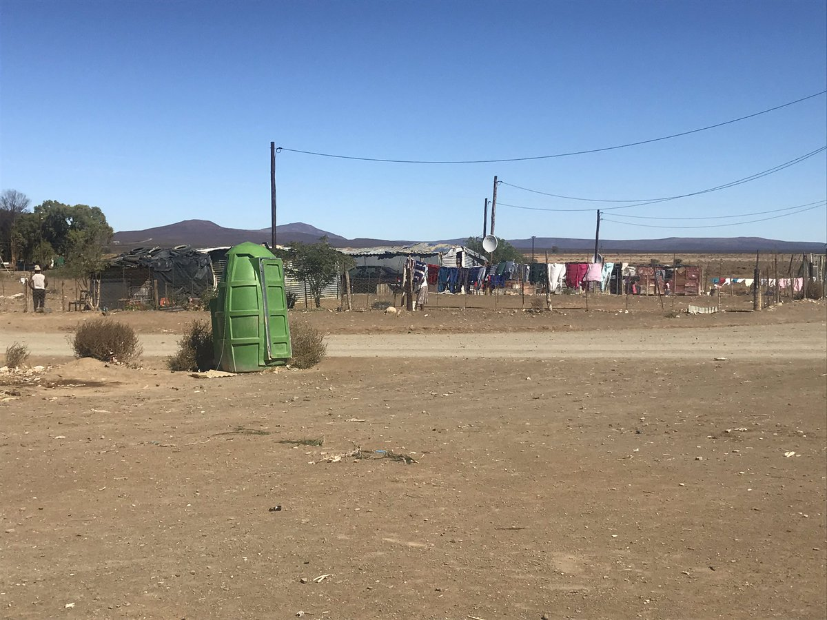 2cb6d7d76d84  NorthernCape Residents have erected about 200 structures on the outskirts  of the town
