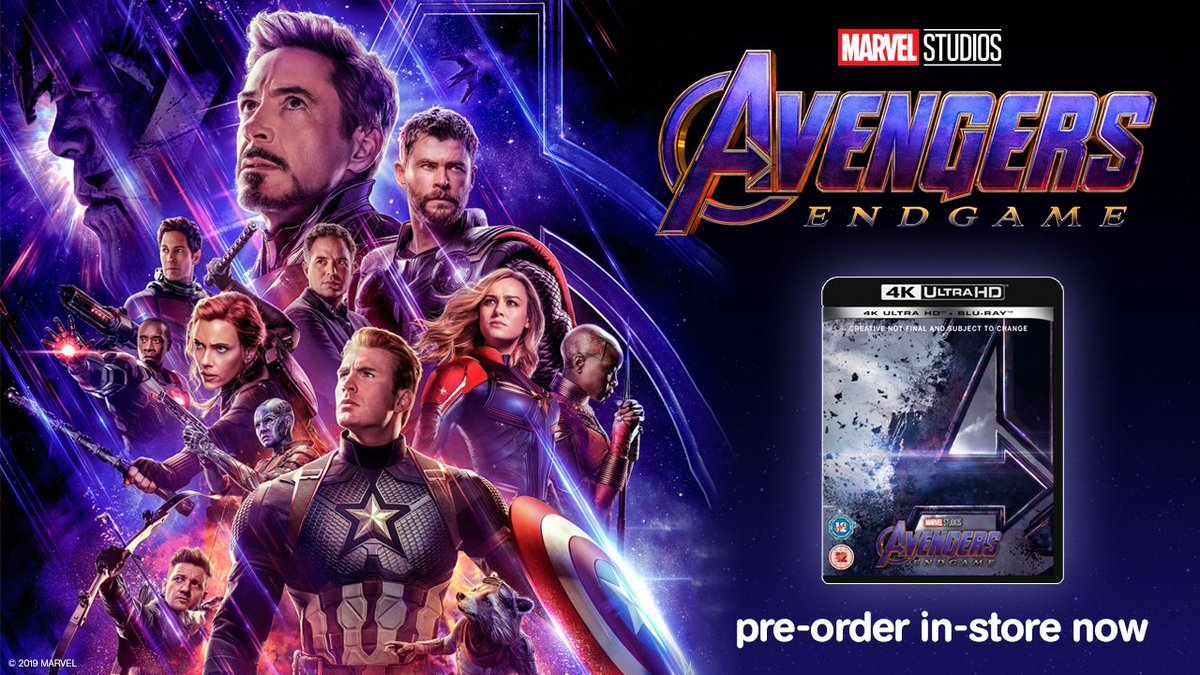 Hmv On Twitter Have You Seen Avengersendgame Be Sure To Pre