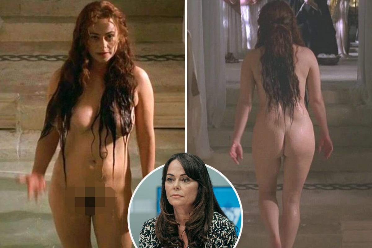 Polly walker rome rome celebrity posing hot nude sex full frontal