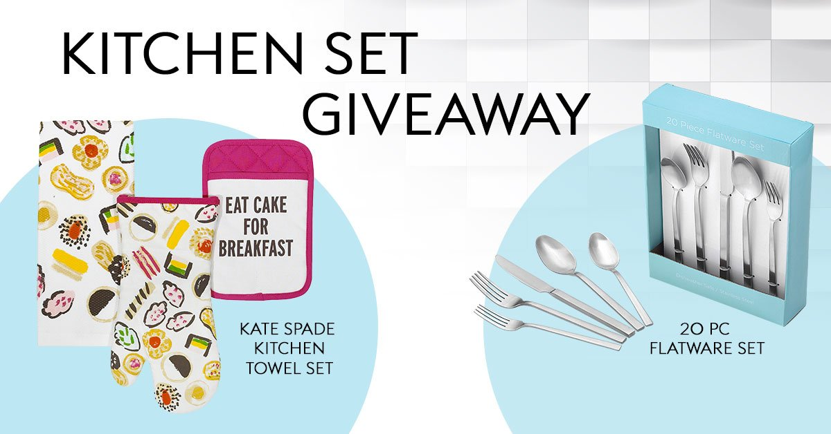 Guess what prizes we're giving away with our Crack The Vault promotion for a chance to win this Kitchen Set! Contest ends 05/06. Full rules: https://bit.ly/2Go9nER