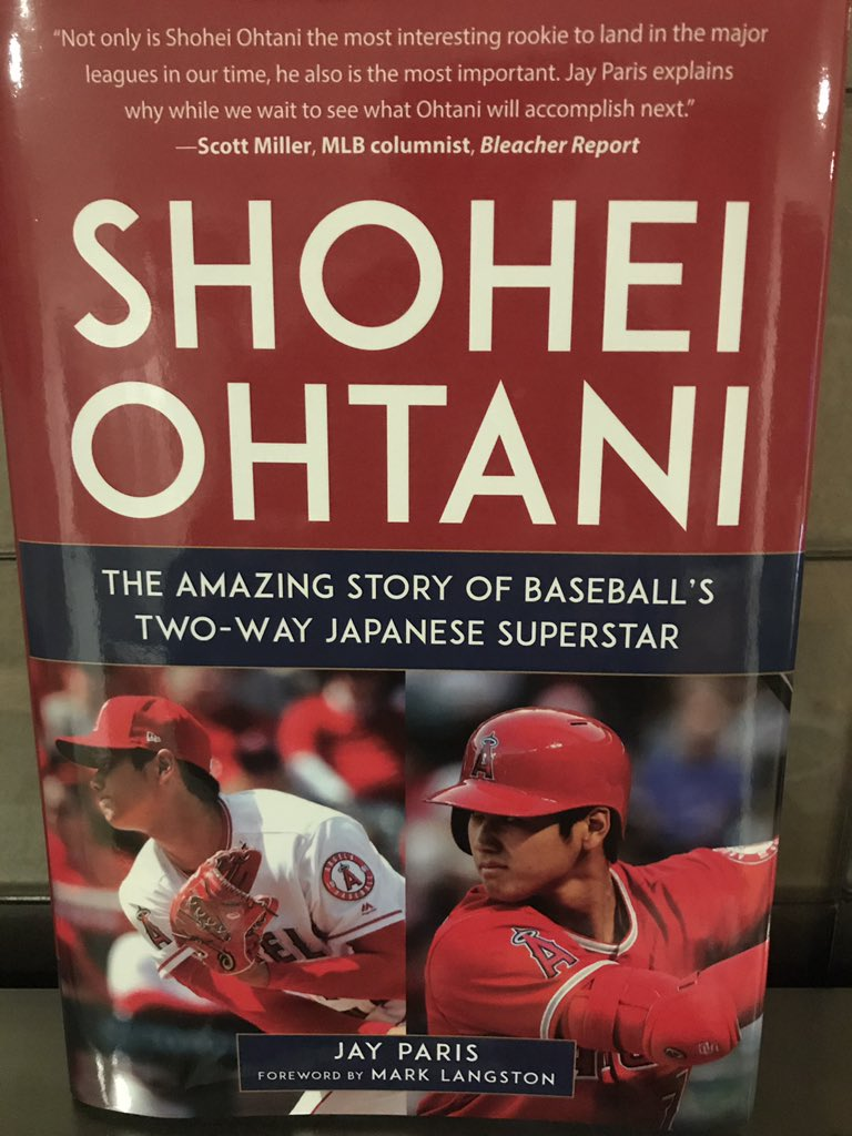 Are you still carrying the Shohei book? Thank you