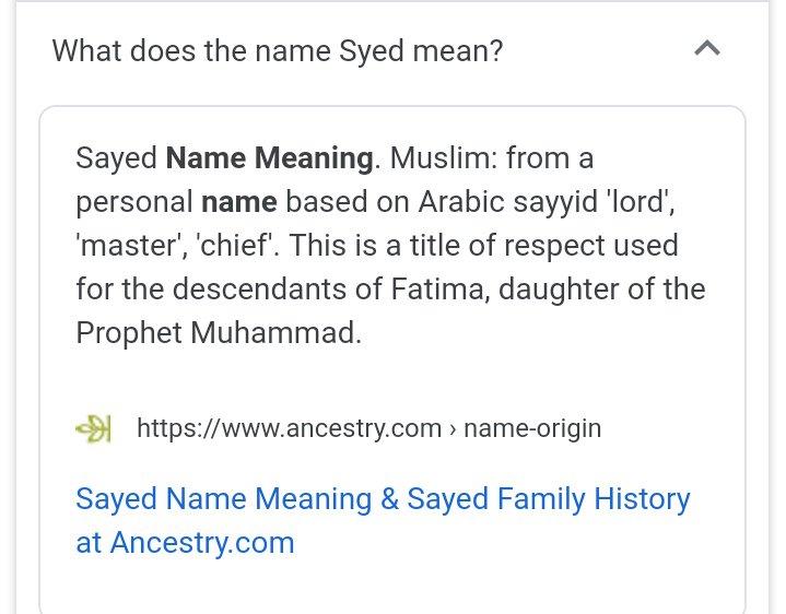 Prophet Muhammad Family Tree Sunni