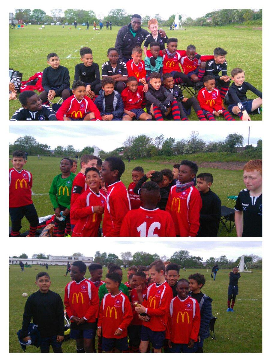 Congratulations Under10s winning the Cup Final