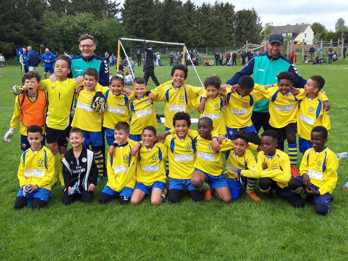 Congratulations Under9s winning their Cup Final