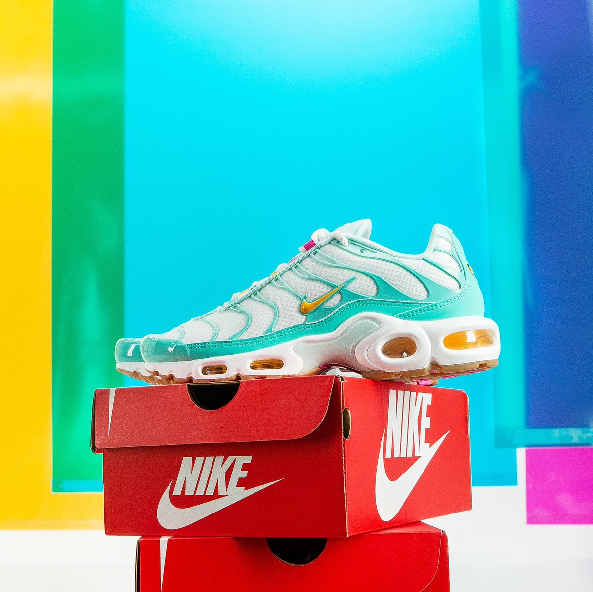 buy popular 40dc2 0d993 Nike Air Max : We're all about baby blue 💦 This Nike Air ...