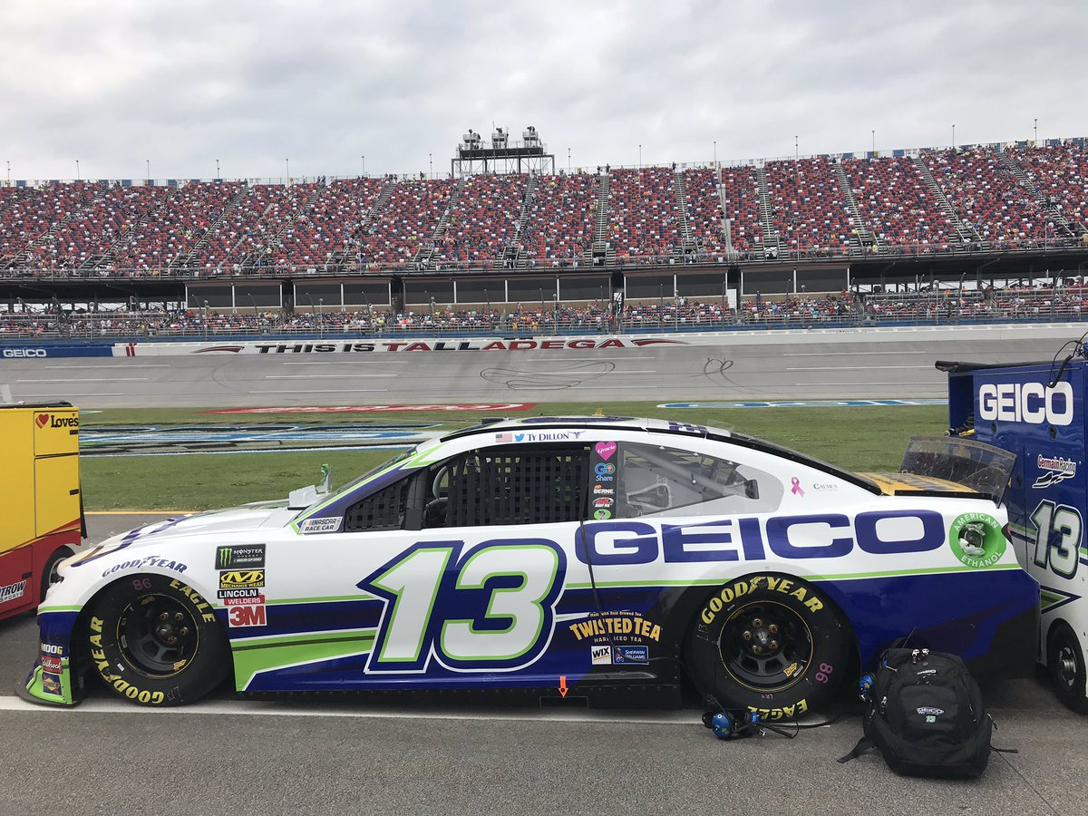 This year's GEICO 500 was monumental!