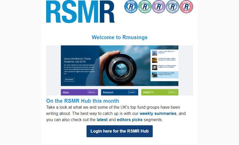 0ab63866fa RSMR Fund Research (@RSMRtweets) | Twitter