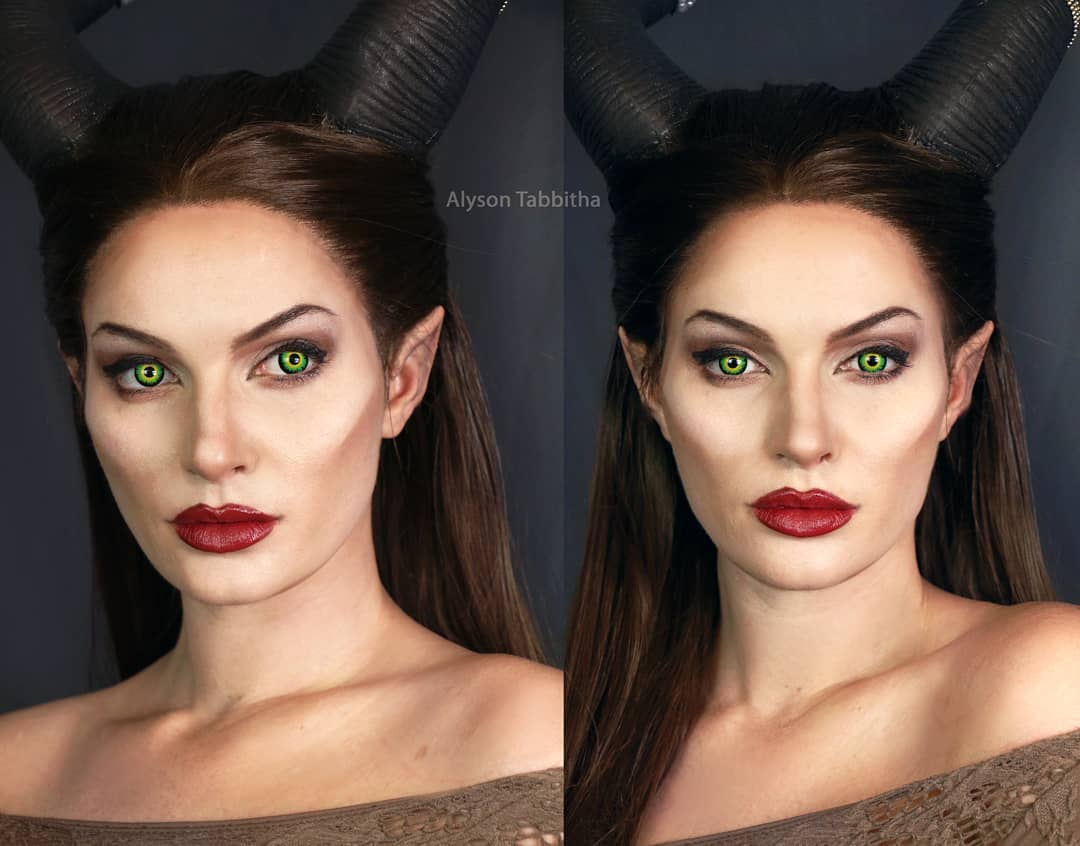Maleficent Makeup Awesome Cosplayer Alyson Tabbitha