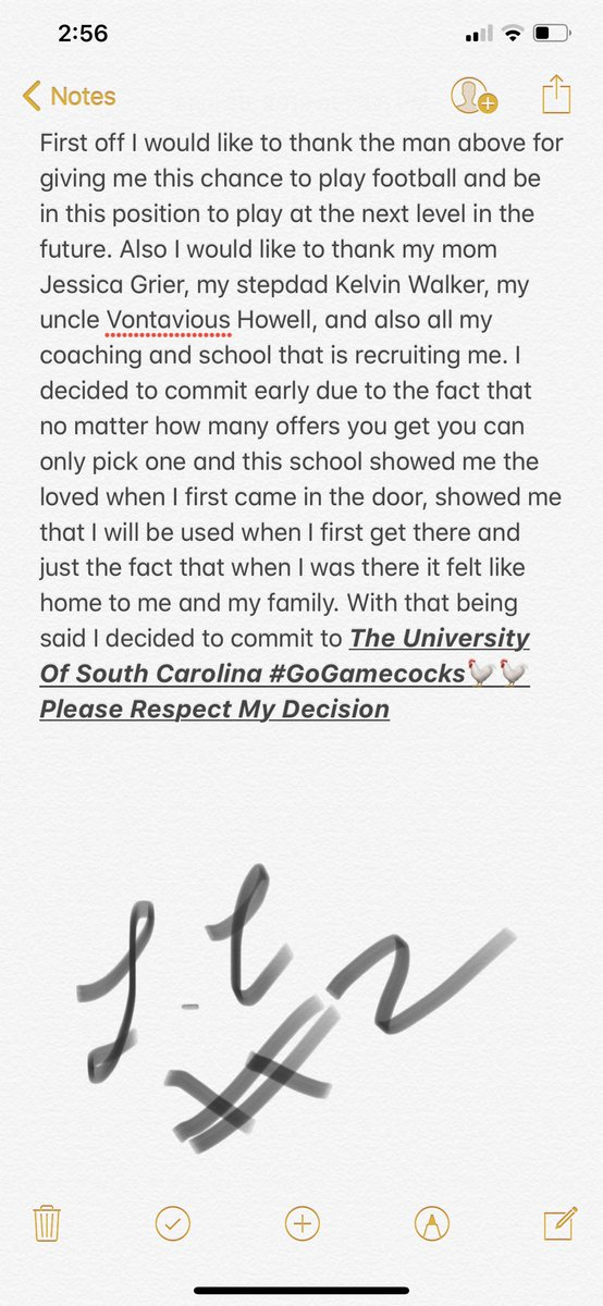 South Carolina lands first 2021 commitment from a 4-star ATH out of