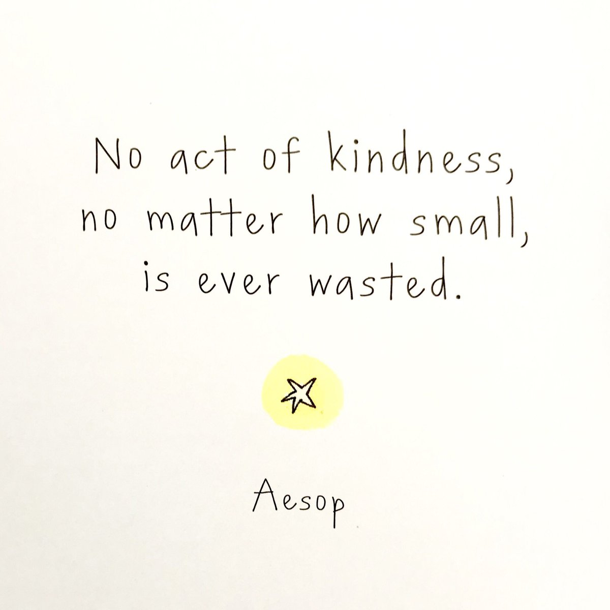 "Action for Happiness on Twitter: ""No act of kindness, no matter ..."