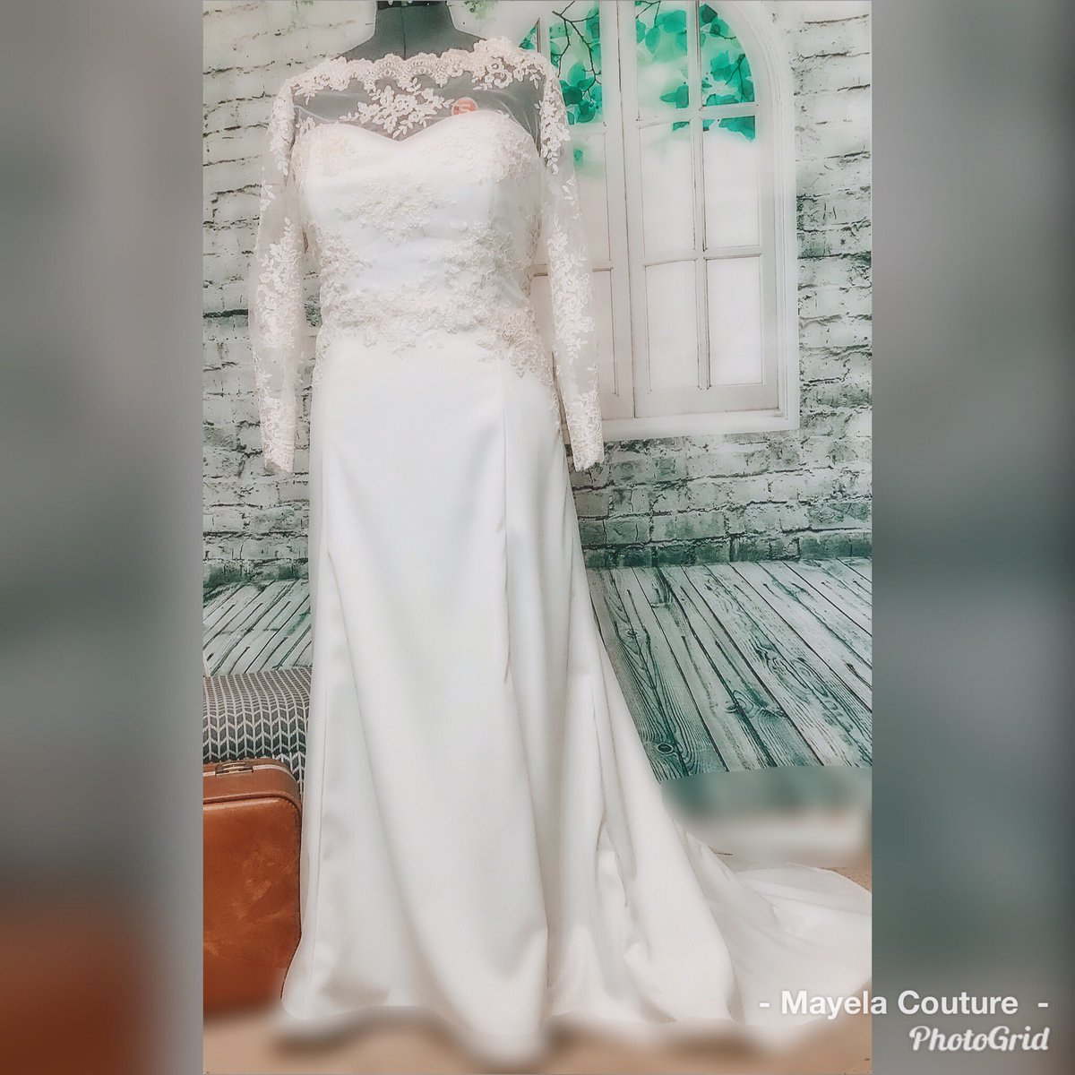 3ce13c28d Sometimes we make wedding dresses. Ok ok this is the first wedding dress.  #mayelacouture #custommade #handmadepic.twitter.com/GTaP3Cyanu