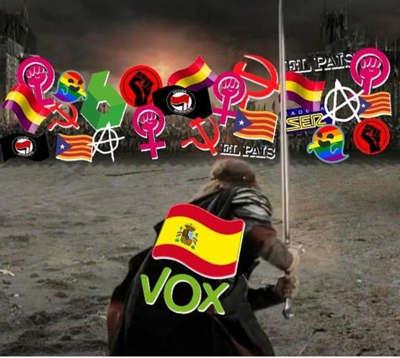Elecciones españolas: PSOE vence, pero VOX se va fortaleciendo D5RM6ejWwAA75x3