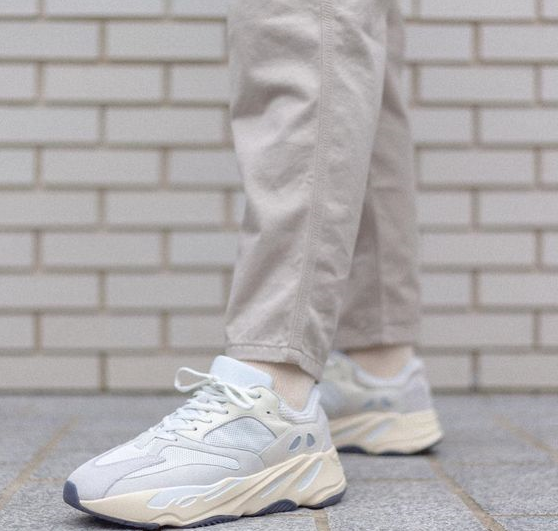 3878a7fbba440 They keep copying designs on The Yeezy 700s  still fire tho 🔥😉 Adidas  Yeezy