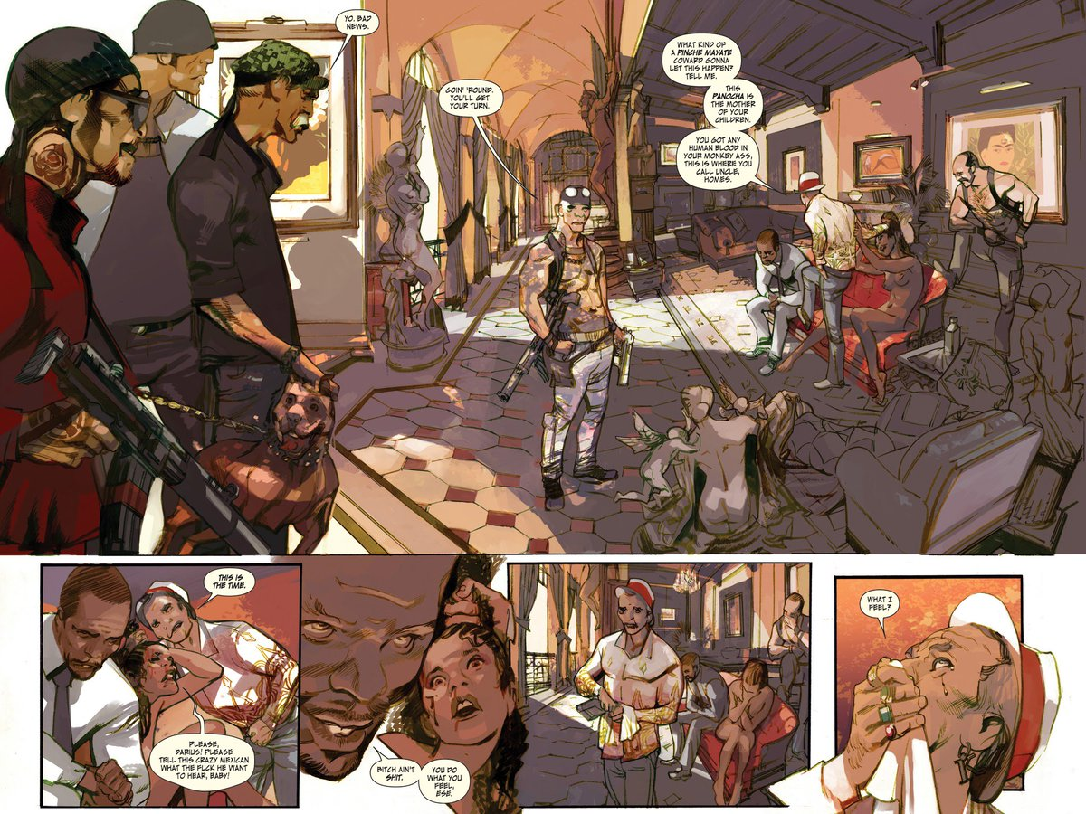 Rick Remender On Twitter A Taste Of Some Last Days Of American Crime Pages By Gregtocchini Available Now Image And Coming Soon To Netflix